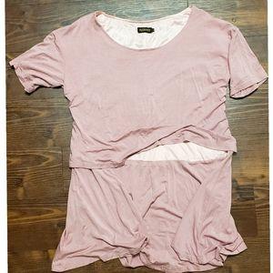Pink, layered Reborn Dress